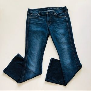 7 For All Mankind A Pocket Boot Cut Stretch